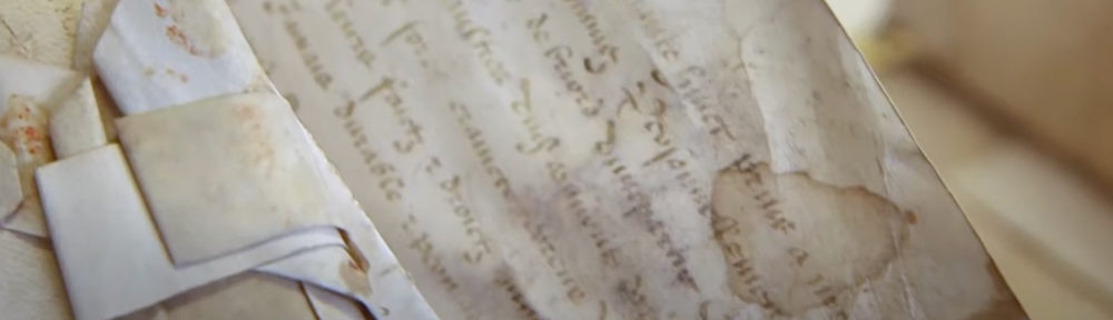 Ecriture sur parchemins