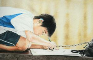 Le garçon au crayon