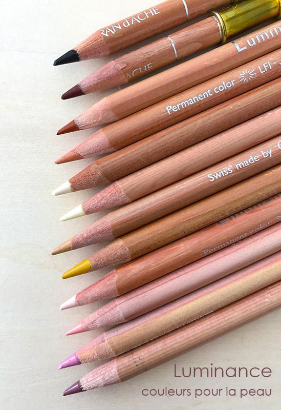 Crayons Luminance pour la peau