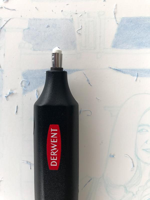 Gomme électrique Derwent